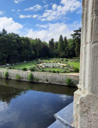 Castello di Chenonceau_ vista dei giardini