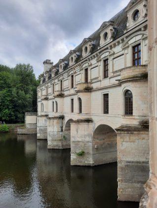Castello di Chenonceau_ vista laterale