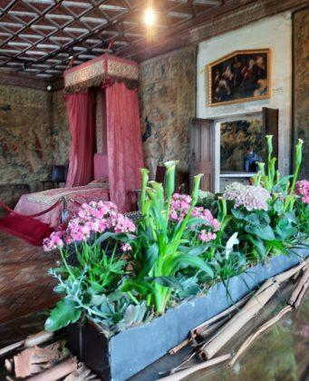 Castello di Chenonceau_stanza con bouquet