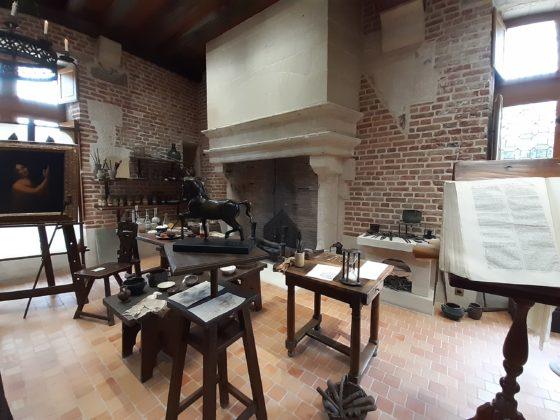 Château-du-Clos-Lucé_Laboratorio-di-Leonardo