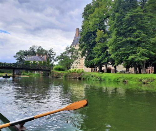Chateau de l'Islette_in barca sull'Indre