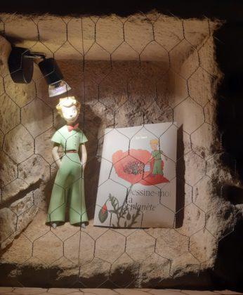 Chateau de la Bourdaisière_ Esposizione Piccolo Principe dettaglio nella grotta