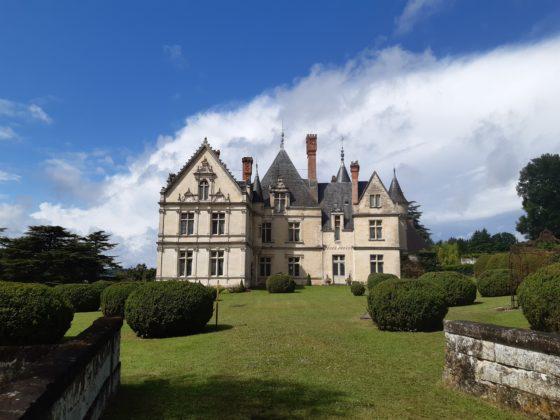 Chateau de la Bourdaisière_ panoramica