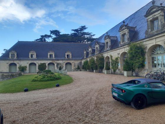 Chateau de la Bourdaisière_Cortile d'entrata