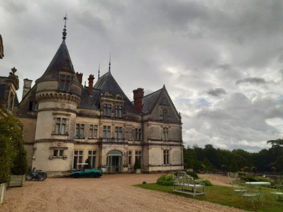 Chateau de la Bourdaisière_entrata