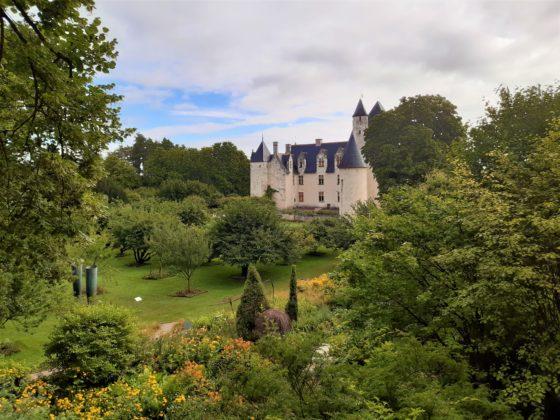 Chateau Du Rivau Vista dall'osservatorio
