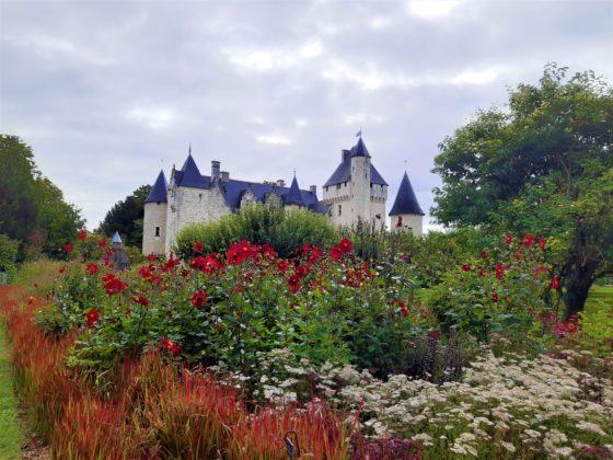 Chateau Du Rivau - tappeto di fiori