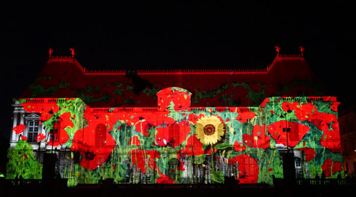 Rennes: lo spettacolare Couleurs al Parlamento di Bretagna