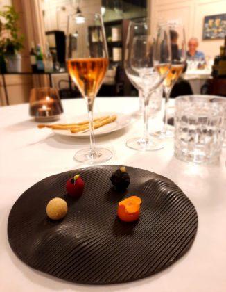 Lubiana_antipasto_JB restaurant. Ristorante stellato dello chef Janez Bratovz_Ph. Francesca Barbarancia ©Voicesearch.travel