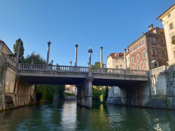 Lubiana_giro sul battello turistico_Ponte dei calzolai_Ph. Francesca Barbarancia ©Voicesearch.travel
