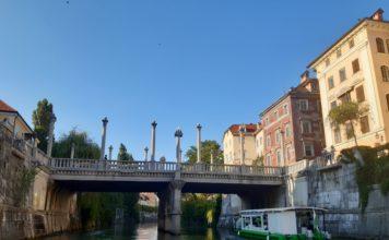 Lubiana_giro sul battello_Ponte dei calzolai_Ph. Francesca Barbarancia ©Voicesearch.travel