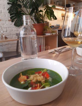 Lubiana_ristorante Monastera bistrot_ gaspacio di cetrioli_Ph. Francesca Barbarancia ©Voicesearch.travel