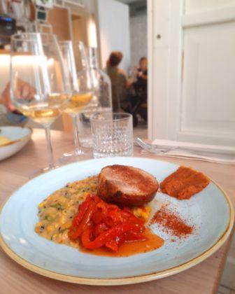 Lubiana_ristorante Monastera bistrot_ pancetta con mais_Ph. Francesca Barbarancia ©Voicesearch.travel