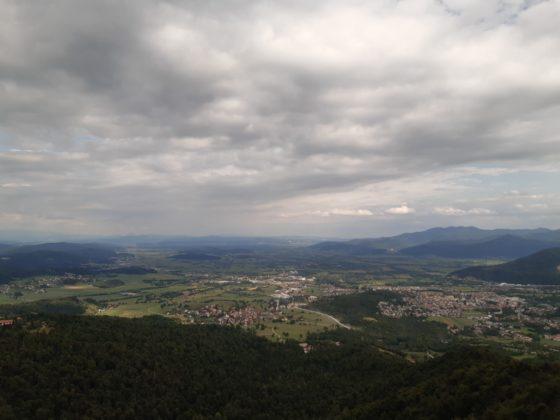 Vrhnika_ vista_collina di Planina,400 metri di altezza_Ph. Francesca Barbarancia ©Voicesearch.travel_