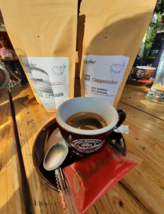 Vrhnika_caffè della torrefazione Escobar Coffee Roasters_Ph. Francesca Barbarancia ©Voicesearch.travel